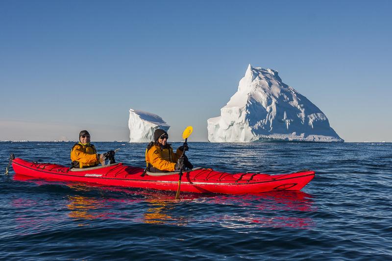 Kayaking in Antarctica, Cruise to Antarctica