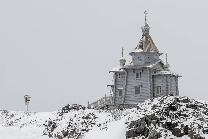 Russian Orthodox Church in Antarctica, Antarctic cruise