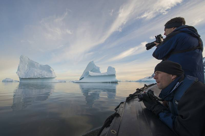 Antarctica photography, Cruise to Antarctica