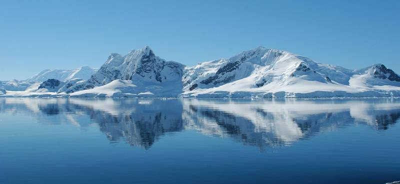 Antarctic landscape reflection, Cruise to Antarctica