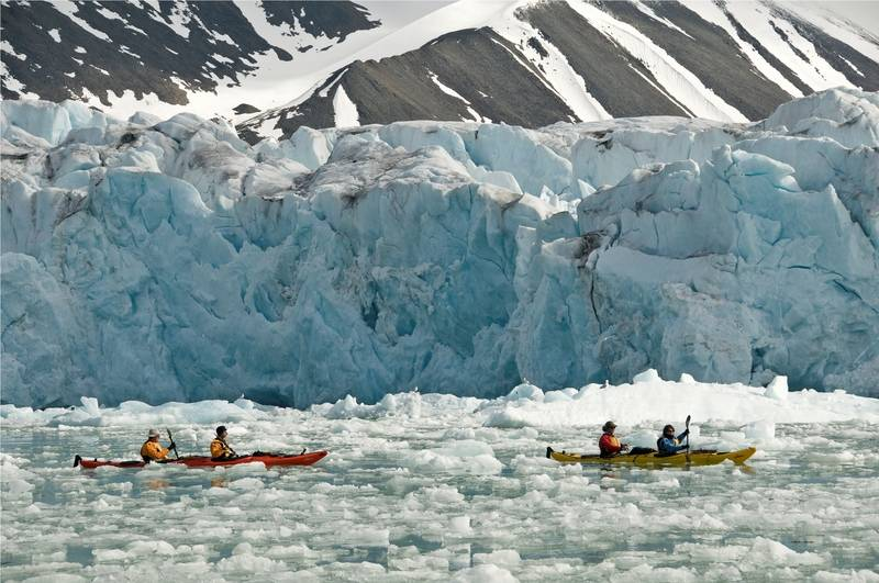 Kayaking in Greenland, Arctic cruise