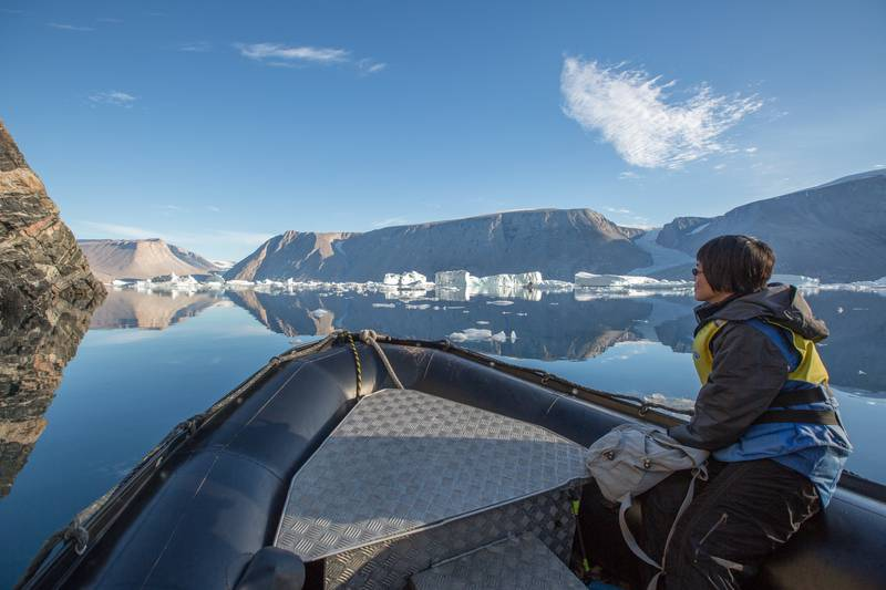 Zodiac cruise in  Greenland, Arctic cruise