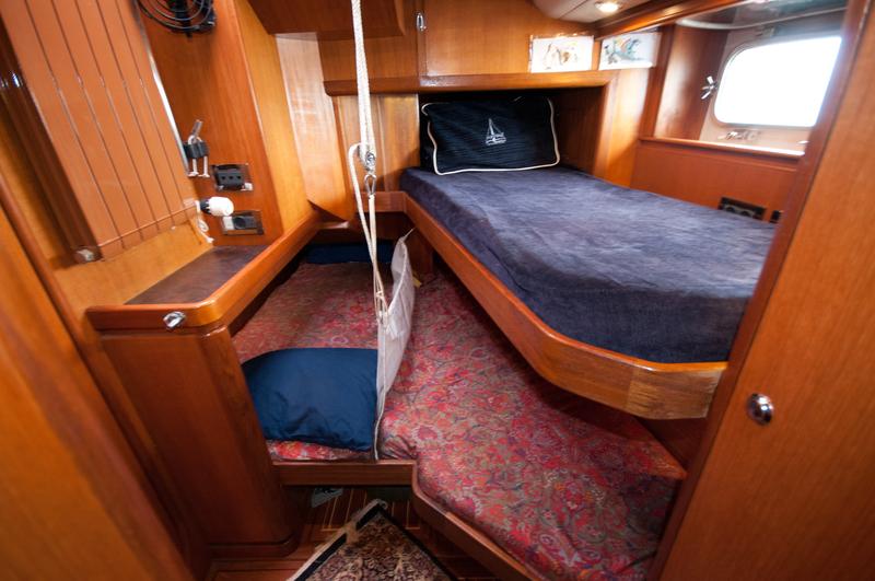 Icebird cabin, Sail to Antarctica