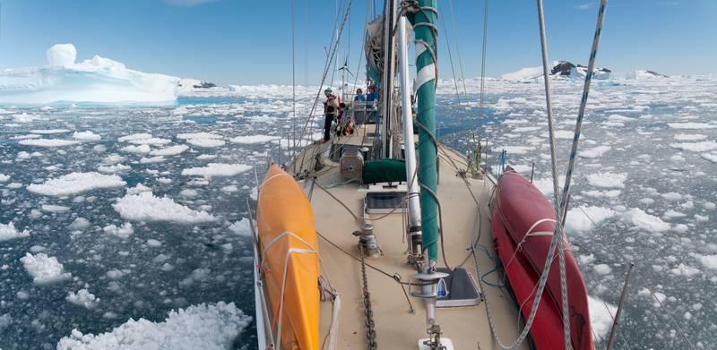 Icebird in Antarctica, Sail to Antarctica