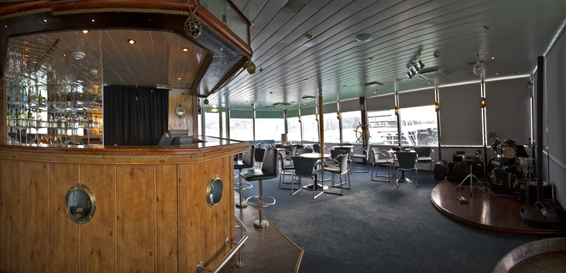 G Expedition bar, Antarctic cruise ship