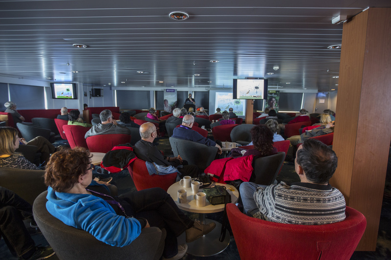 G Expedition lounge, Antarctic cruise ship