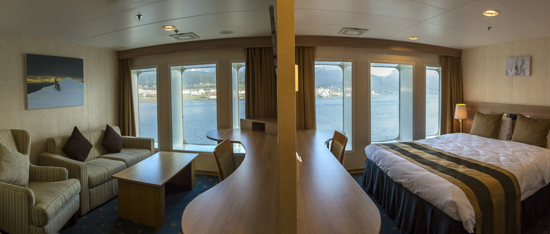 G Expedition cabin, Antarctic cruise ship