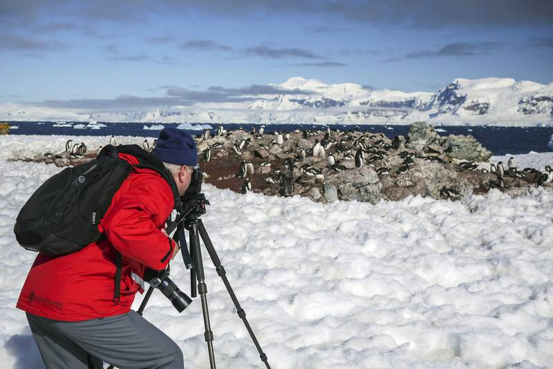 Antarctica photographer, Cruise to Antarctica