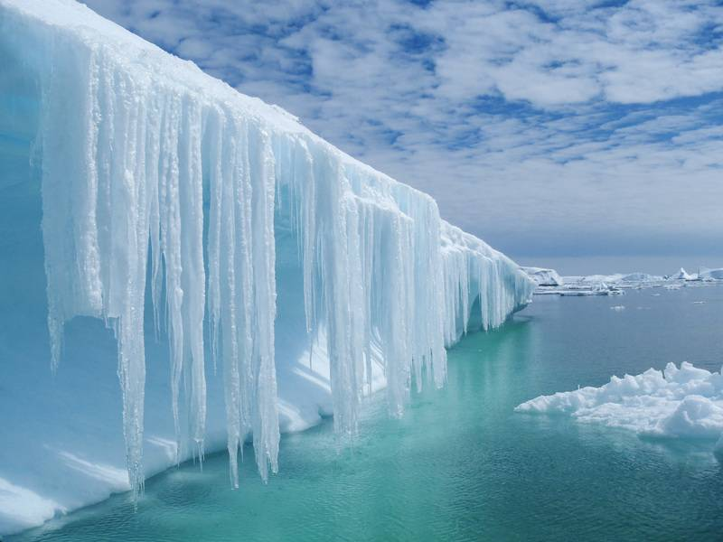 Spectacular ice berg in Antarctica, Cruise to Antarctica