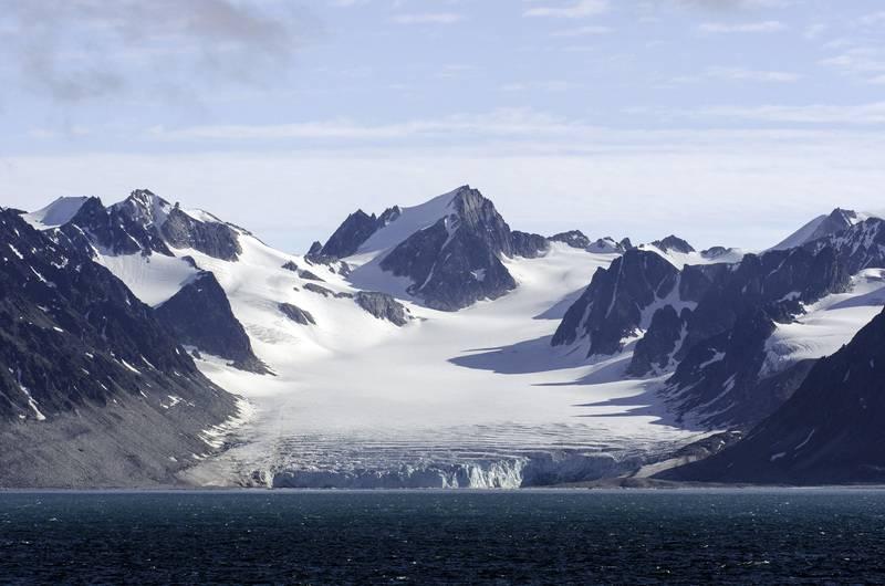 Arctic landscape, Arctic cruise
