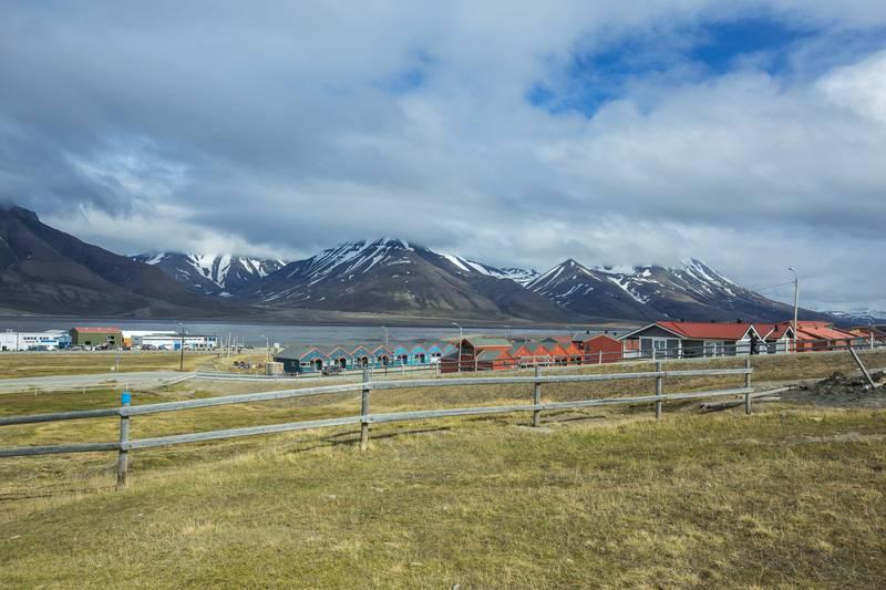 Svalbard village, Arctic cruise