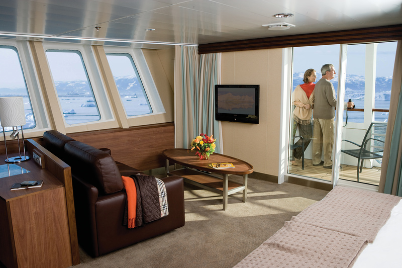 National Geographic Explorer cabin, Cruise to Antarctica