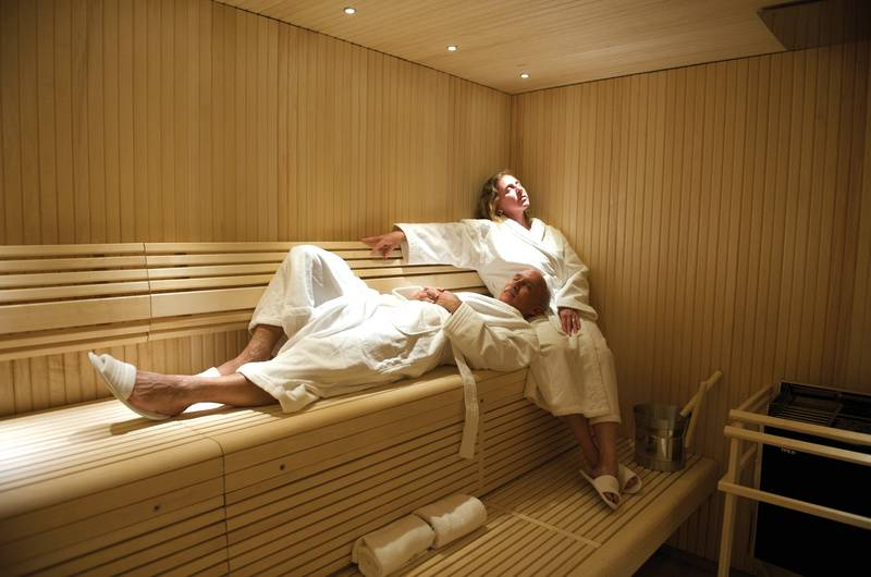National Geographic Explorer sauna, Cruise to Antarctica