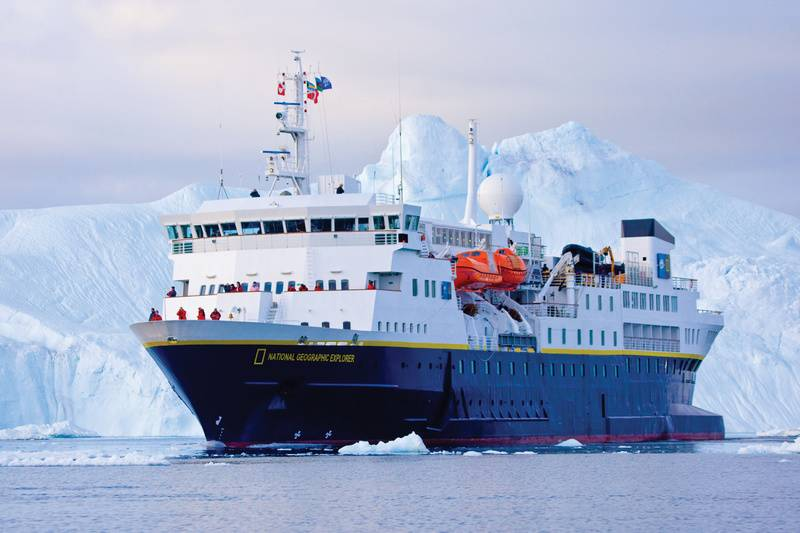 National Geographic Explorer, Antarctic cruise ship