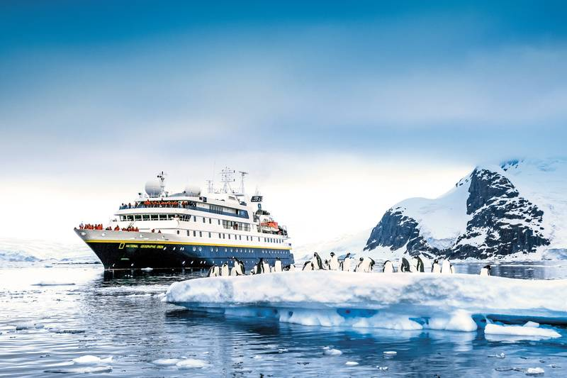 National Geographic Orion, Antarctic cruise ship