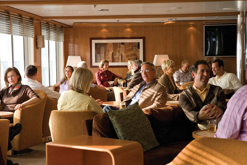 National Geographic Orion lounge, Antarctic cruise ship