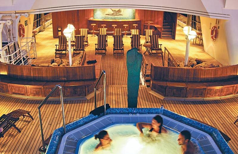 National Geographic Orion spa, Antarctic cruise ship