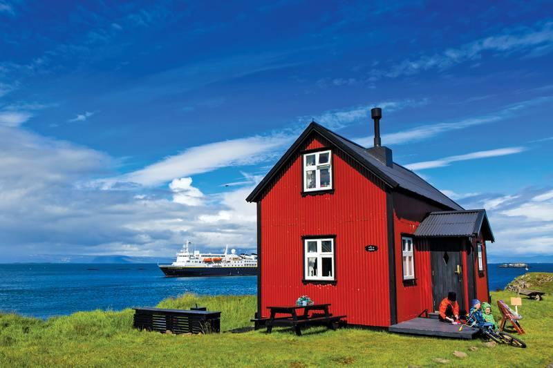 Iceland house, Iceland cruise