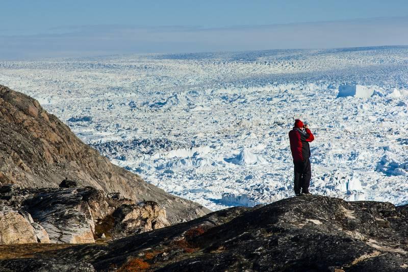 Greenland glacier, Arctic cruises