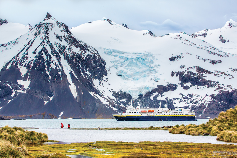 South Georgia landscape, Cruise to Antarctica