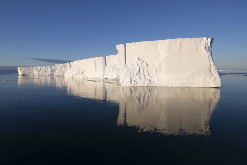 Tabular ice berg Antarctica, Antarctic cruise