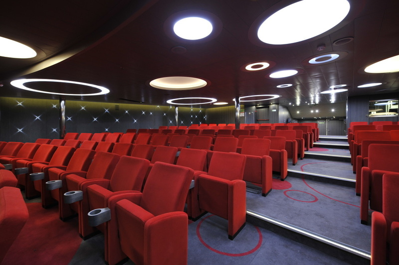 La Boreal lecture room, Antarctic cruise ship