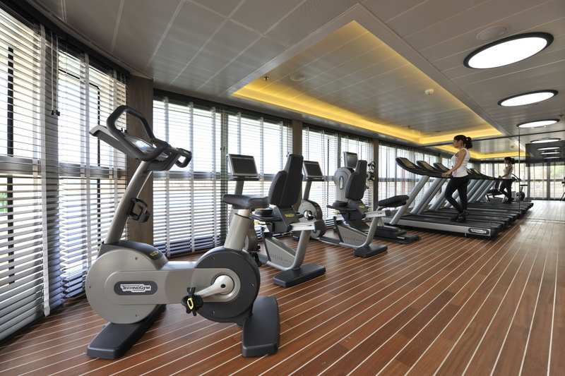 La Boreal gym, Antarctic cruise ship