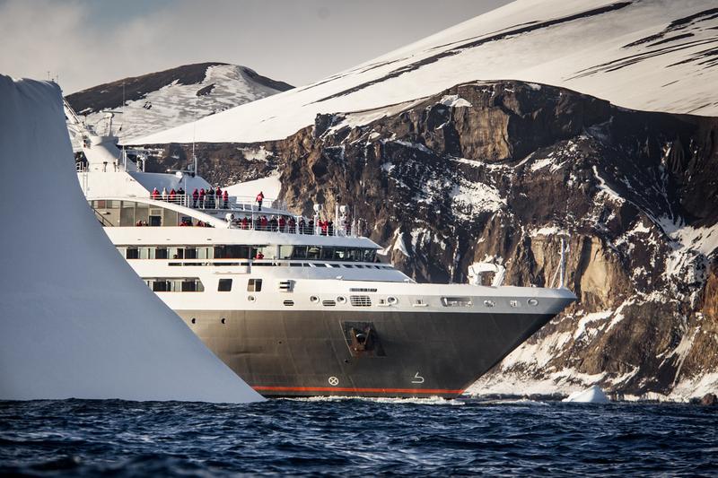 Antarctic cruise ship
