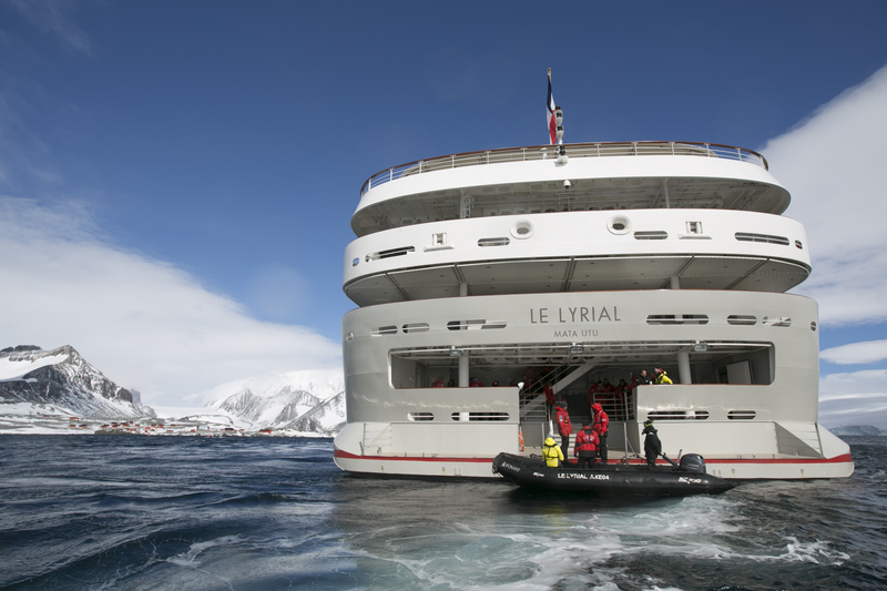 Le Lyrial, Antarctic cruise ship