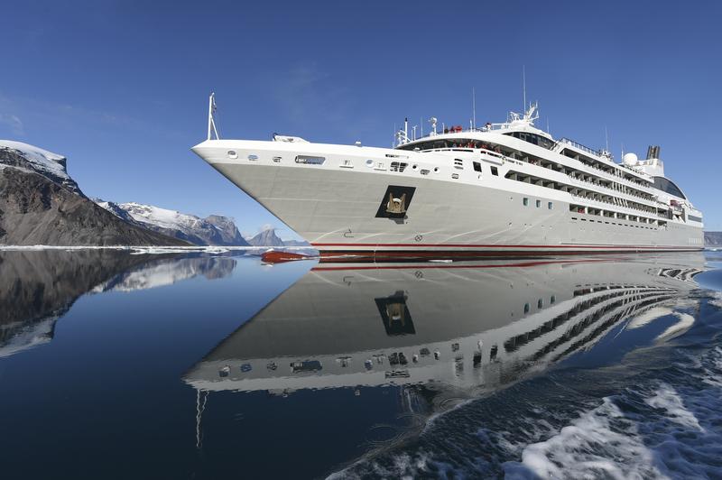 Le Soleal in Antarctica, Antarctic cruise ship