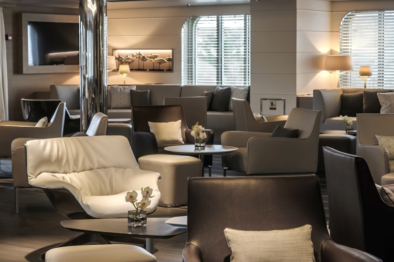 Le Soleal Lounge, Antarctic cruise ship