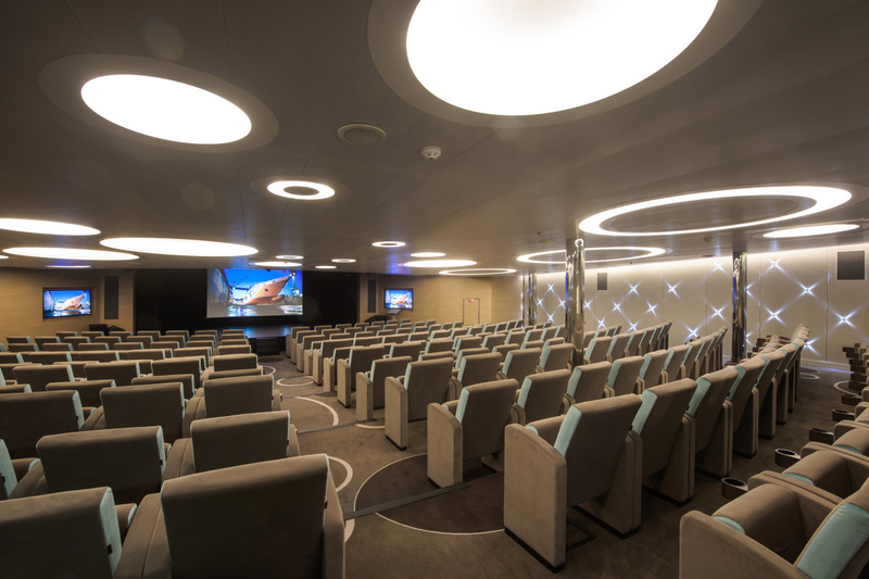 Le Soleal Lecture room, Antarctic cruise ship