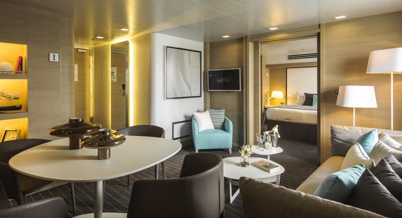 Le Soleal Cabin, Antarctic cruise ship