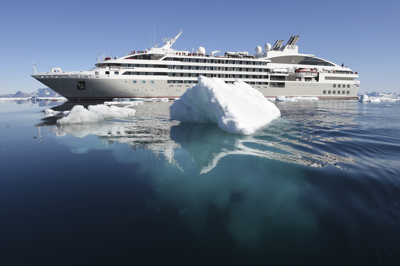 Le Soleal in Antarctica, Antarctic cruise ship