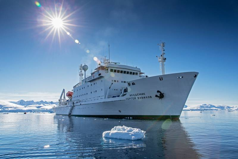 Akademik Ioffe Antarctic cruise ship