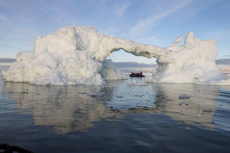 Arctic Zodiac cruise, Arctic cruise