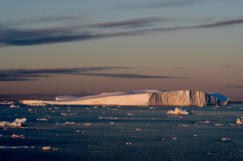 Svalbard icebergs, Arctic cruise