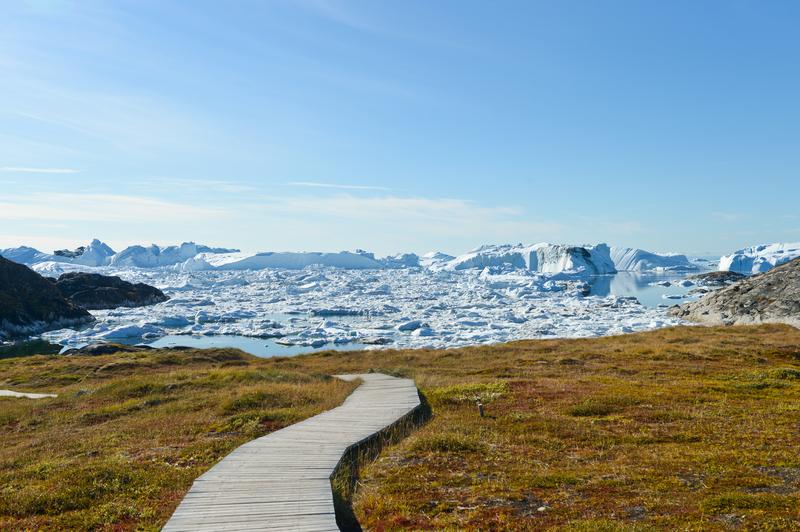Greenland icebergs, Arctic cruise