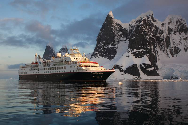 Silver Explorer, Antarctic cruise ship