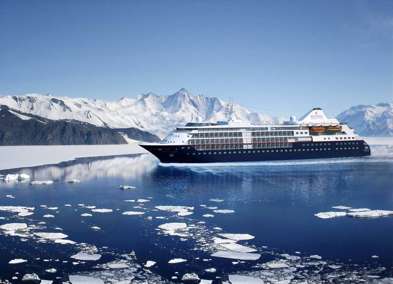 Silver Cloud, Antarctic cruise ship