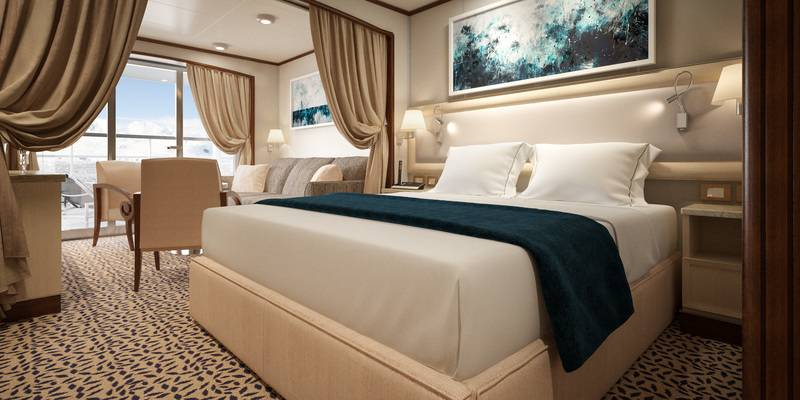 Silver Cloud Suite, Antarctic cruise ship