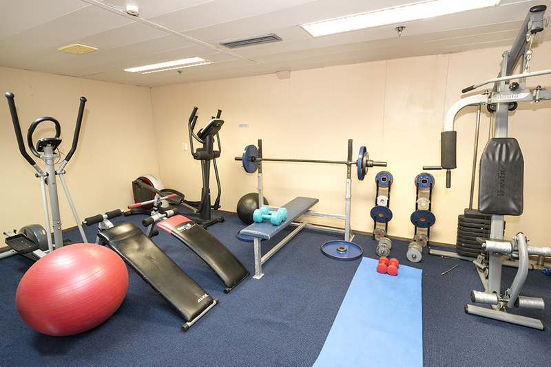 Akademic Ioffe Gym, Antarctic cruise ship