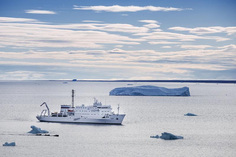 Akademic Vavilov, Antarctic cruise ship