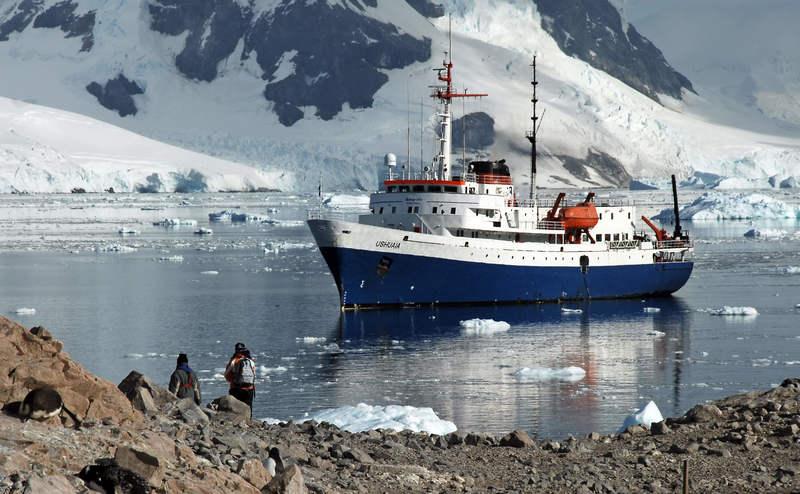 Ushuaia in Antarctica, Antarctic cruise ship