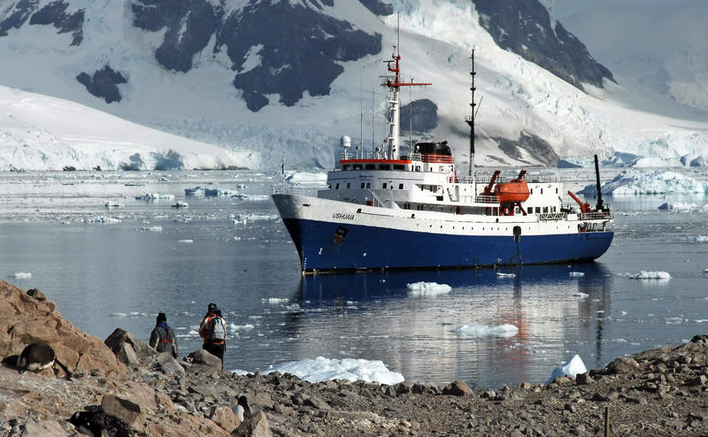 Ushuaia in Antarctica, Antarctic cruise ship