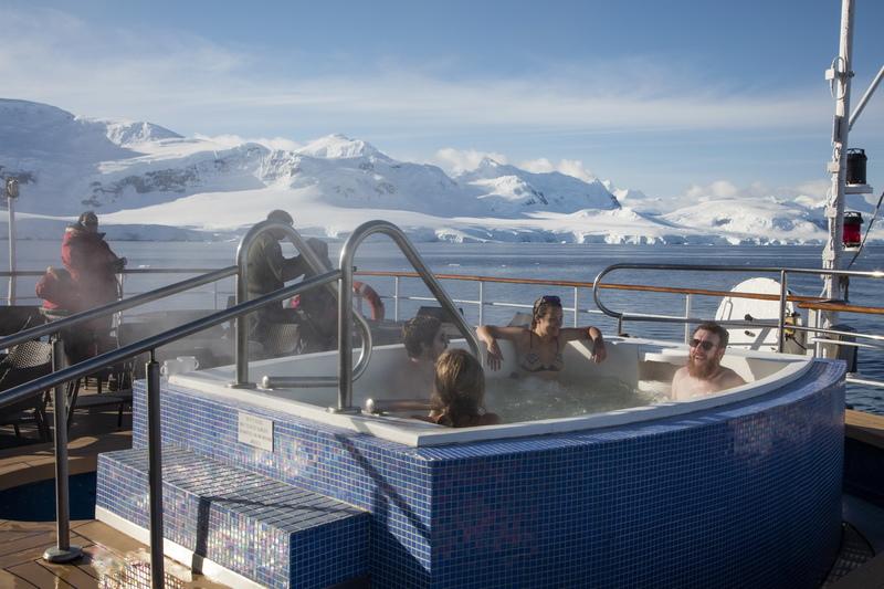 Sea Spirit Spa, Antarctica cruise ship