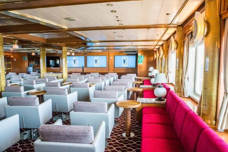 Sea Spirit Lounge, Antarctica cruise ship