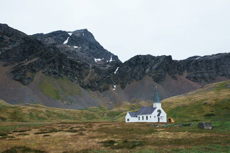 Church on South Georgia, Cruise to Antarctica