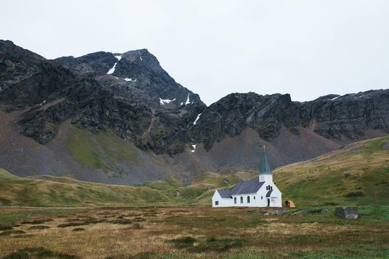 Church on South Georgia, Cruise to Antarctica