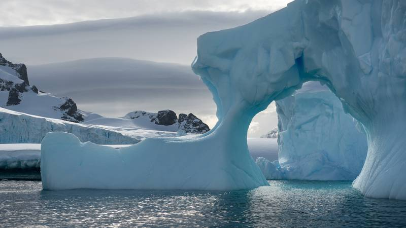 Iceberg in Antarctica, Cruise to Antarctica